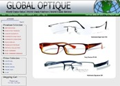 Global Optique Website